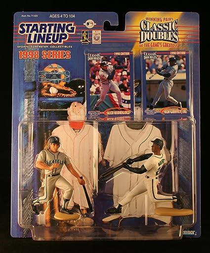 4d78954966 ALEX RODRIGUEZ / SEATTLE MARINERS & KEN GRIFFEY JR. / SEATTLE MARINERS 1998  MLB Classic