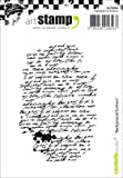 Carabelle Studio Background Writing Cling Stamp, White/Transparent, A7