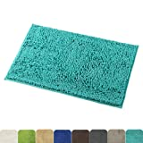 Amazon Price History for:Mayshine 20x32 inch Non-slip Bathroom Rugs Shag Shower Mat Machine-washable Bath mat with Water Absorbent Soft Microfibers of - Turquoise
