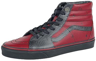 Vans Unisex X Marvel SK8-Hi Skate Shoes (11 Women   9.5 Men M US ... c80fbe8a1