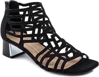 6547ea3fb8 Andrew Geller Hillary Women's Sandals & Flip Flops Black Size 5.5 M ...
