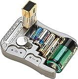 tka Köbele Akkutechnik Batterieprüfer: Digitaler Profi-Batterietester mit LCD-Anzeige, für gängige Batterien (Batterieprüfgerät)