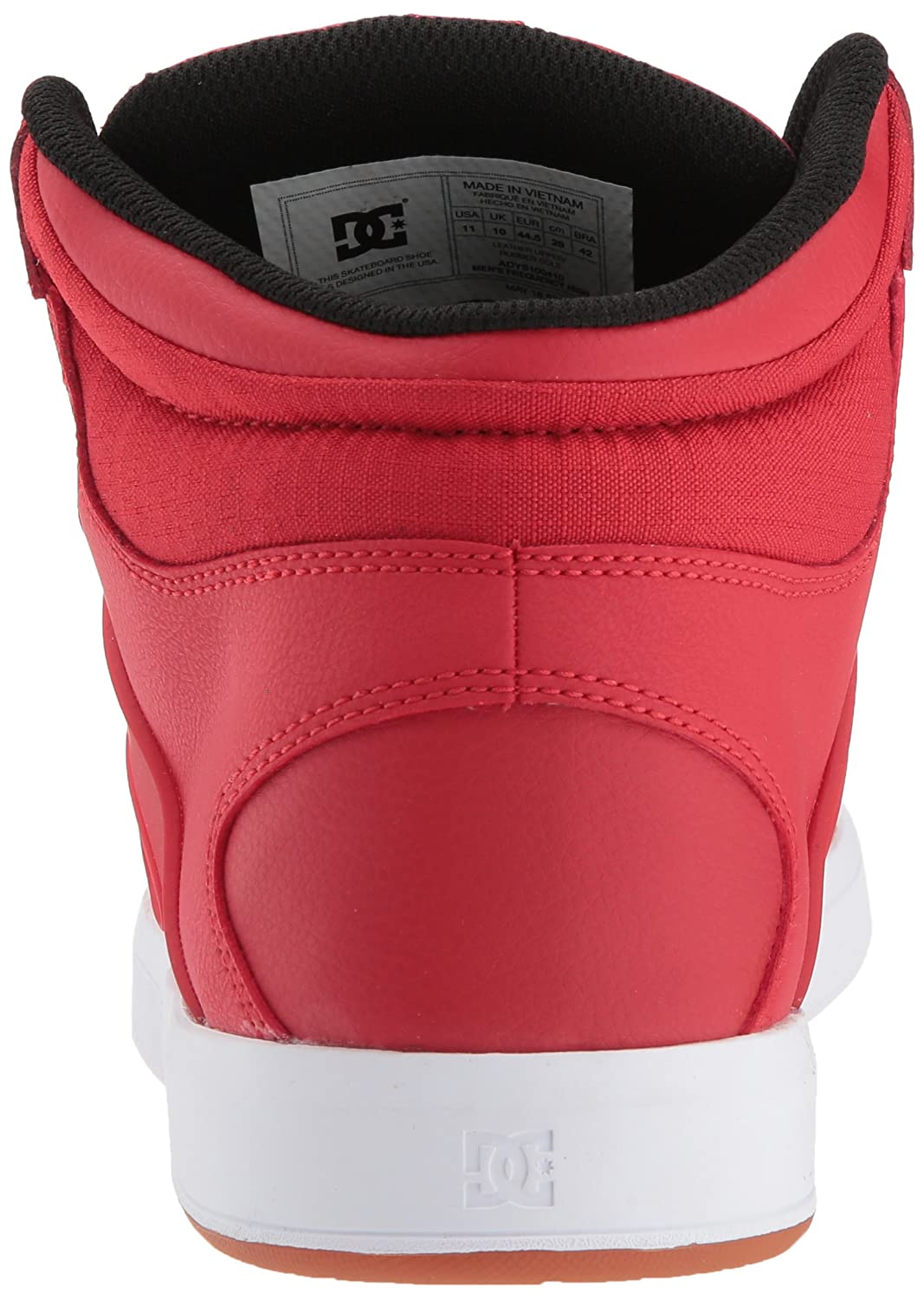 DC Mens Frequency High Skate Shoe