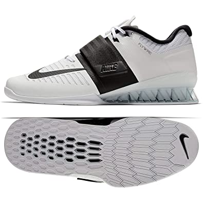 competitive price fbdff 0fb79 Nike Romaleos 3 Mens 852933-101 Size 9.5 White Black