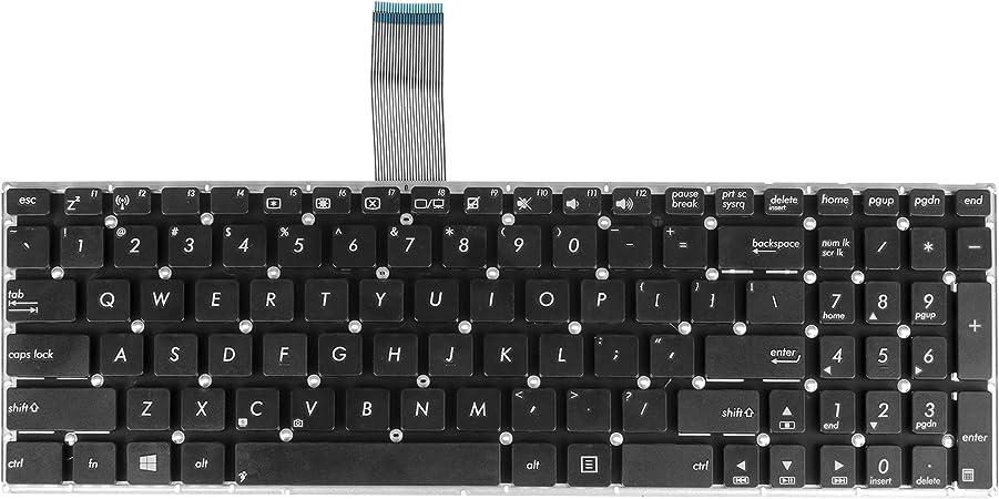 Celda verde® Teclado para ASUS x550vx Laptop/Notebook (diseño ...