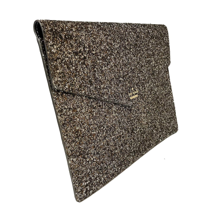 d6c21435c7d Amazon.com: Kate Spade Mallo Laurel Way Glitter Clutch Evening Bag Gunmetal:  Shoes