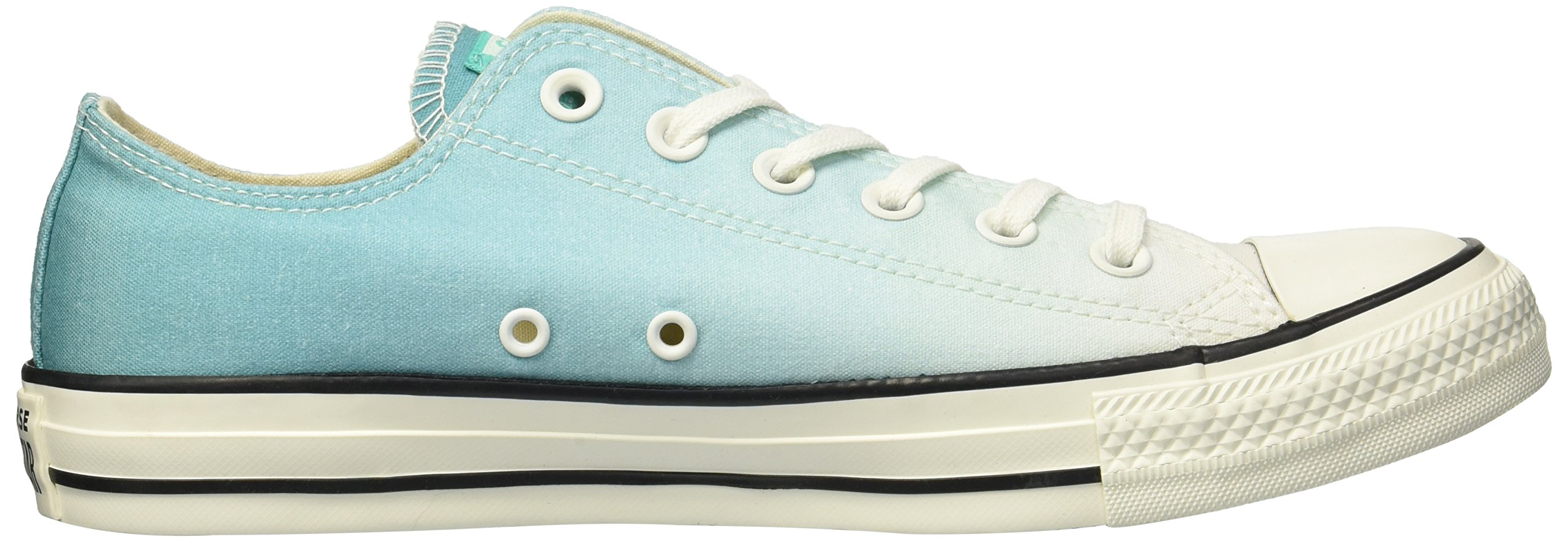 Converse Women's Chuck Taylor All Star Ombre Low TOP Sneaker, Pure Teal egret, 7.5 M US by Converse (Image #6)