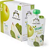 Amazon Price History for:Amazon Brand - Mama Bear Organic Baby Food Pouch, Stage 2, Apple Pear Spinach, 4 Ounce Pouch (Pack of 12)