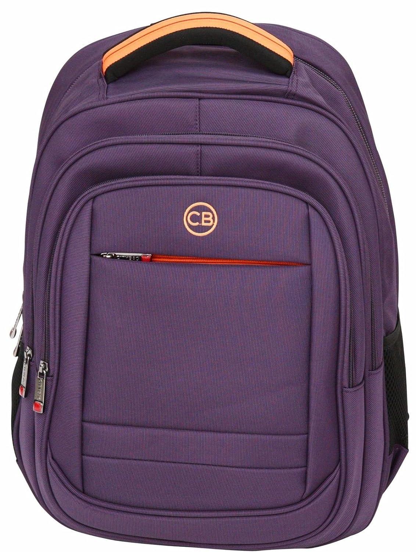 City Bag - Sac à dos pour école/travail - pour ordinateur portable 13 ' - Rouge - L 40 cm