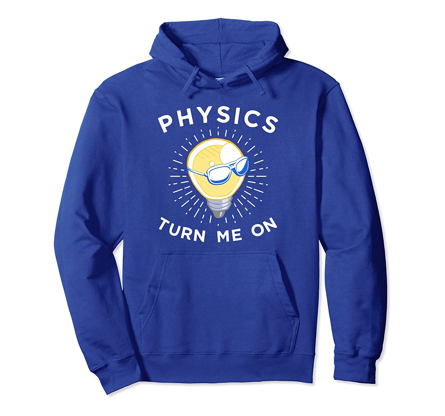 Fun Physics Hoodie, Funny Science Light Bulb Apparel Gift-alottee gift