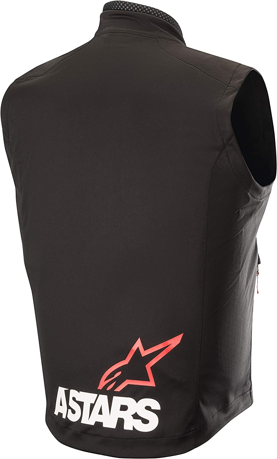 Chaleco para motocross Alpinestars Session Race talla 3XL color negro y rojo
