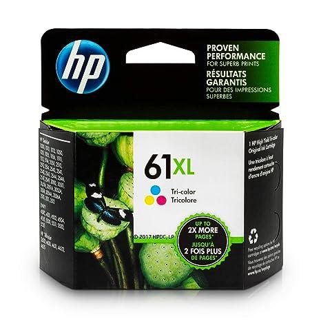 Amazon.com: HP 61XL (CH564WN) Cartucho de tinta de tres ...