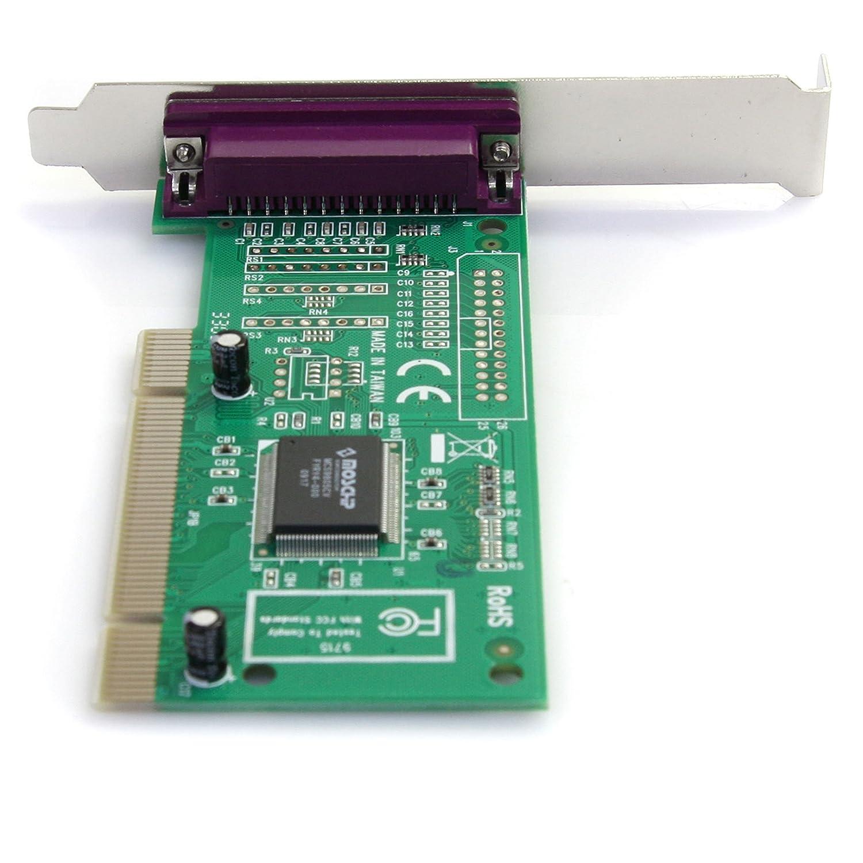 StarTech.com PCI1P/_LP Carte Adaptateur PCI vers 1 Port Parall/èle Faible Encombrement Low Profile 1x PCI PCI-X M/âle 1x DB-25 Femelle