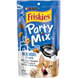 Purina Friskies Party Mix Cat Treats Beachside Crunch, 60g