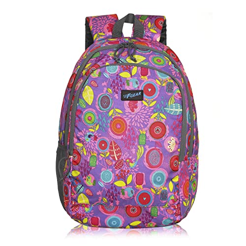 [Apply coupon] F Gear Castle Pine Pink Grey 22 Ltrs Casual Backpack (3355)