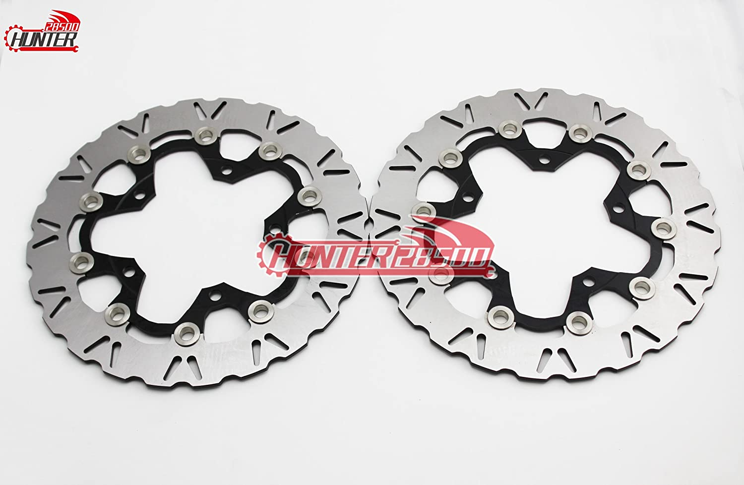 Front Brake Rotors for Suzuki Hayabusa GSX1300R B-King 2008 2009 2010 2011 2012 2013 2014 2015