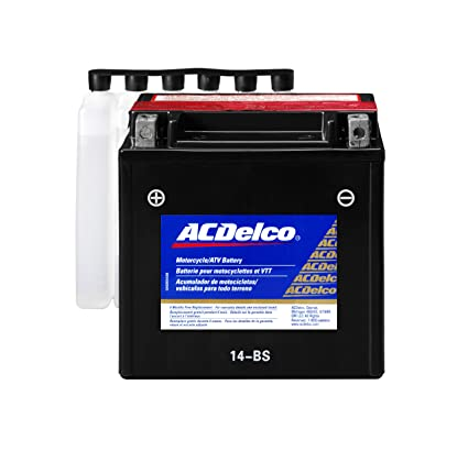 Ac Delco Battery >> Amazon Com Acdelco Atx14bs Specialty Agm Powersports Jis 14 Bs