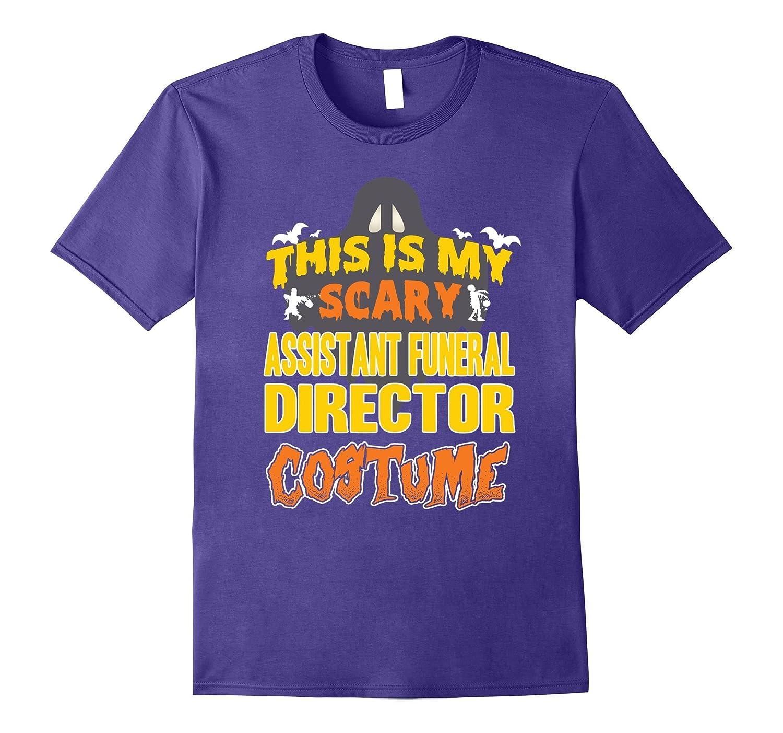 Assistant Funeral Director Custome Halloween Job TShirt-TJ
