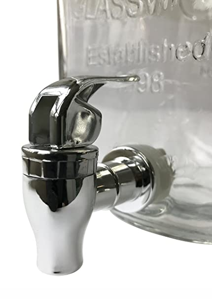 Amazon.com | Wees Beyond 5340S Mason Jar Beverage Dispenser Set, Clear: Iced Beverage Dispensers