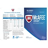 McAfee LiveSafe Ultimate Protection 1 Year Subscription for All Devices Win 8 and 10 Compatible