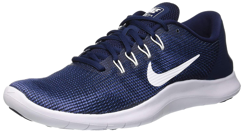 MultiCouleure (Midnight Navy blanc-bleu Recall 400) 42 EU Nike hommes Laufschuh Flex courir 2018, Chaussures de FonctionneHommest Compétition Homme