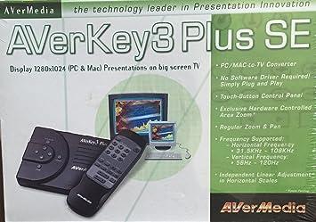 AVERMEDIA AVERKEY3 PLUS SE DRIVERS WINDOWS XP