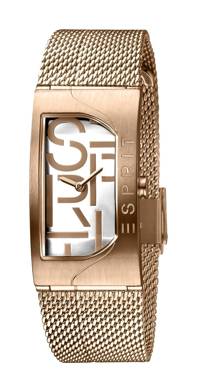 Es1l046m0045 Analog Mit Edelstahl Uhr Esprit Damen Armband Quarz L4A5j3R