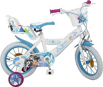 Toimsa 682 Frozen, Bicicleta 14 Pulgadas: Amazon.es: Juguetes y ...