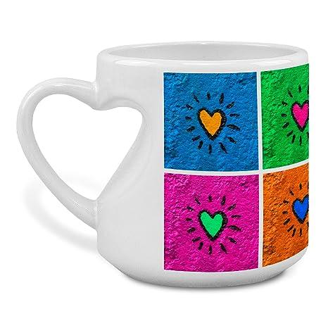 Lolapix - Taza Love Personalizada con tu Foto, Diseño o Texto. Regalo único,
