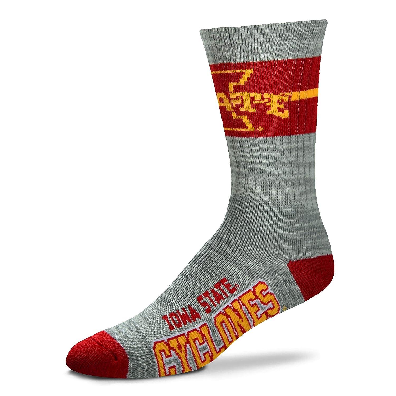 TCK Iowa State Cyclones Baseline 3.0 Crew Socks
