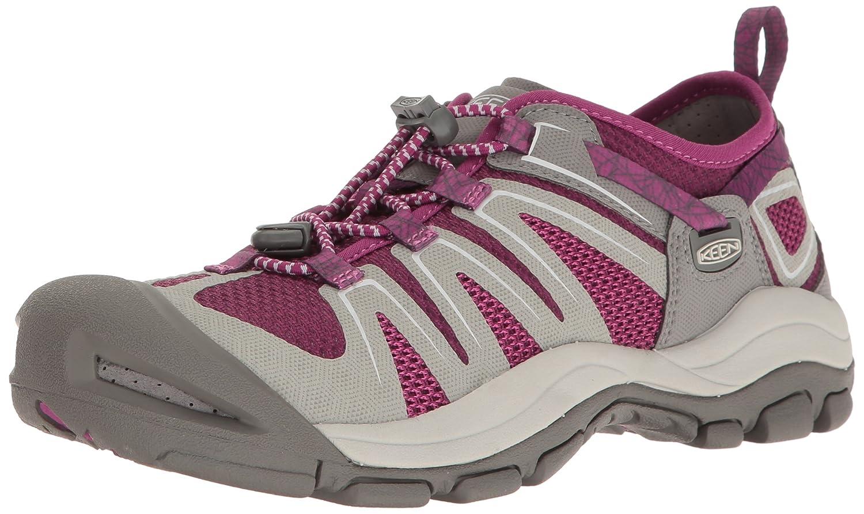 KEEN Women's McKenzie II Hiking Shoe B01H79H96Y 8.5 B(M) US Neutral Gray/Dark Purple