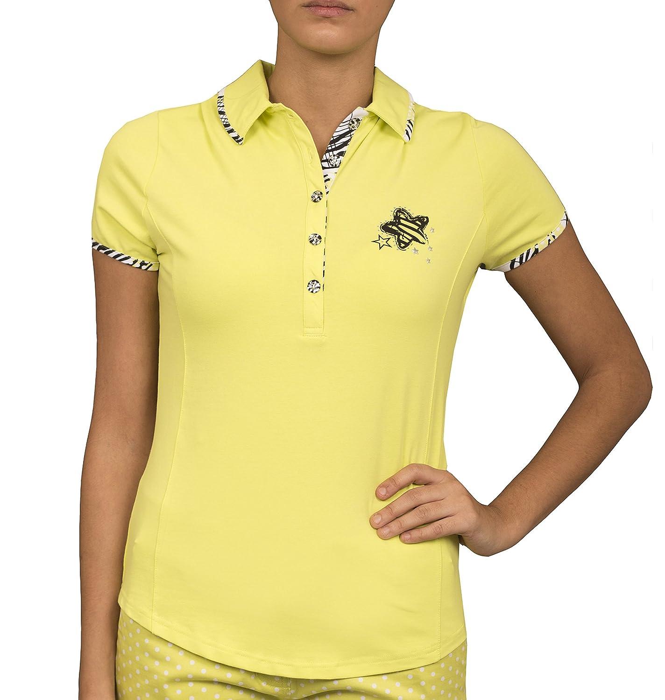 Green Lamb Verde Cordero Charlotte Golf Polo de Color Verde ...