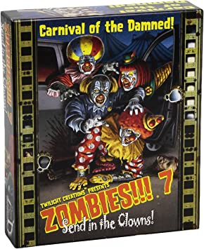 Twilight Creations - Zombies! 7 Send in The Clowns Juego de Mesa ...