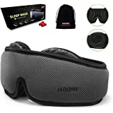 Deeper Softer Lighter and Smoother Best for Traveling Napping Unimi Upgraded Sleep Mask Blindfold 3D Contoured Comfortable Eye Patch 100/% Blackout Black+Drawing Eye Mask for Sleeping