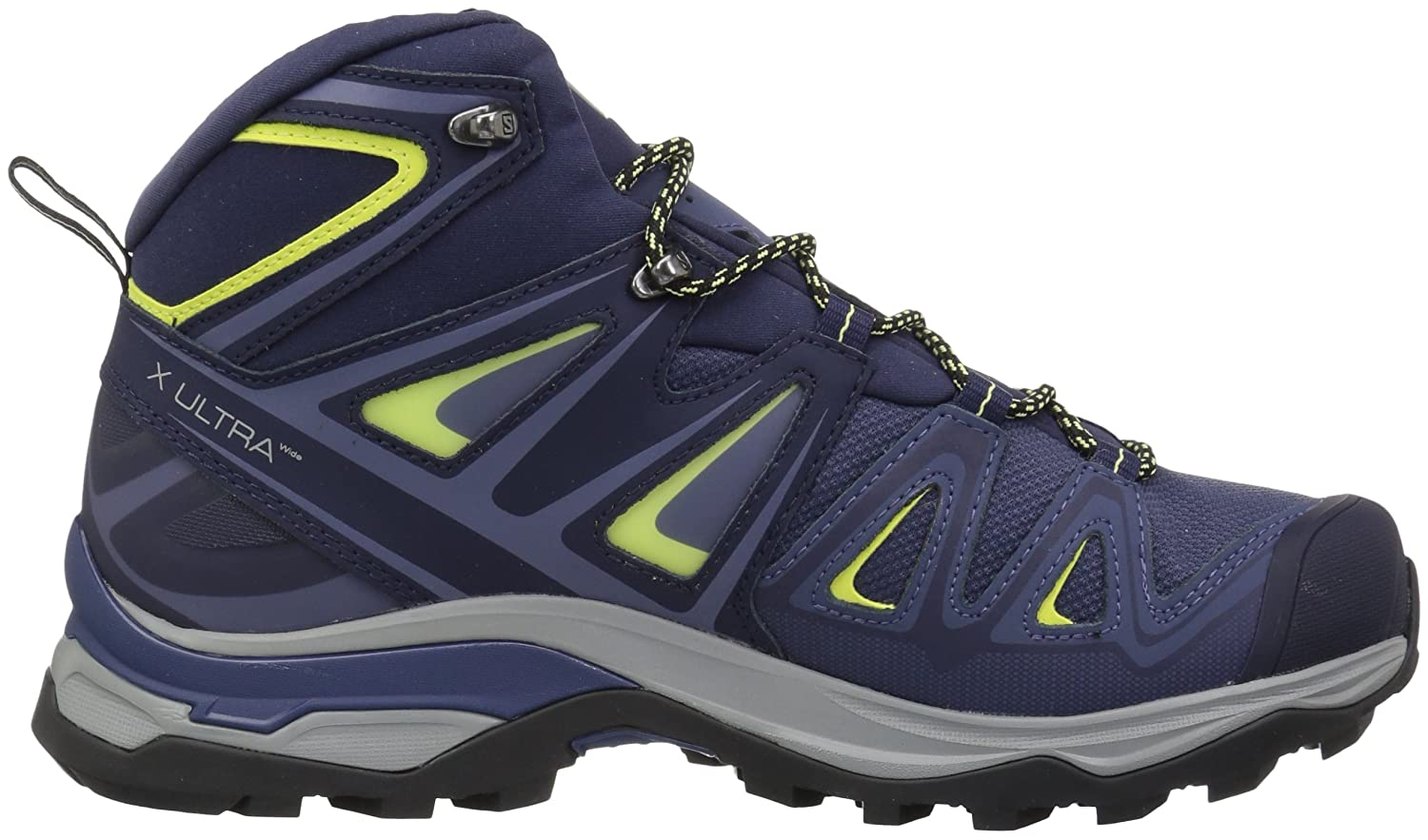 Salomon Women's X Ultra 3 Wide Mid GTX Hiking Shoes B073JXPG6W 6.5 M US|Crown Blue