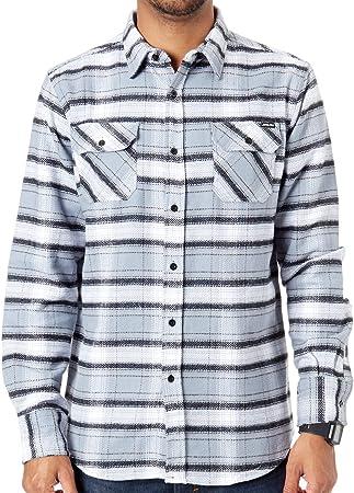 Camisa de manga larga Santa Cruz Pacifica Shirt Gris-negro Blanco Check