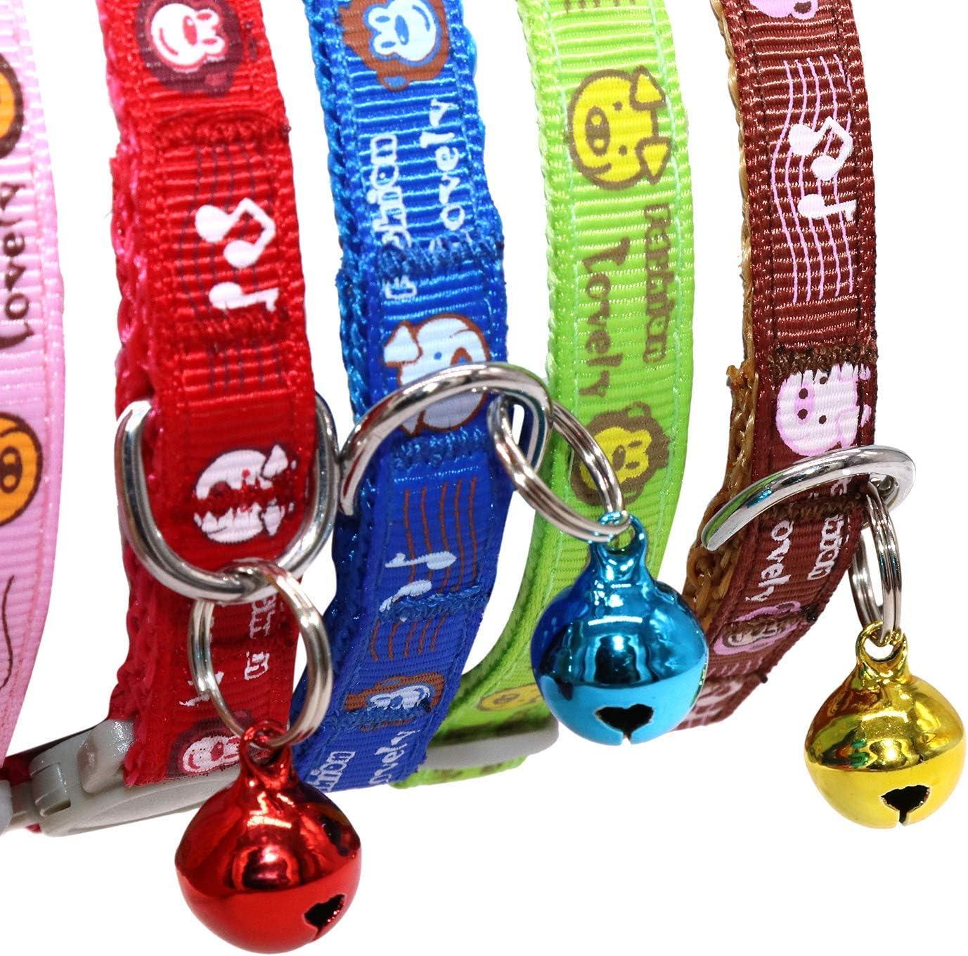 TagME Collares de Gato Personalizados con Placa de Nombre/Collares ...
