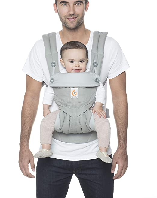 Amazon.com : Ergobaby 360 All-Position Baby Carrier with Lumbar Support (12-45 Pounds), Pearl Grey : Baby