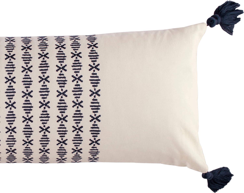 12 x 30 Novogratz Layla Throw Pillow Blue