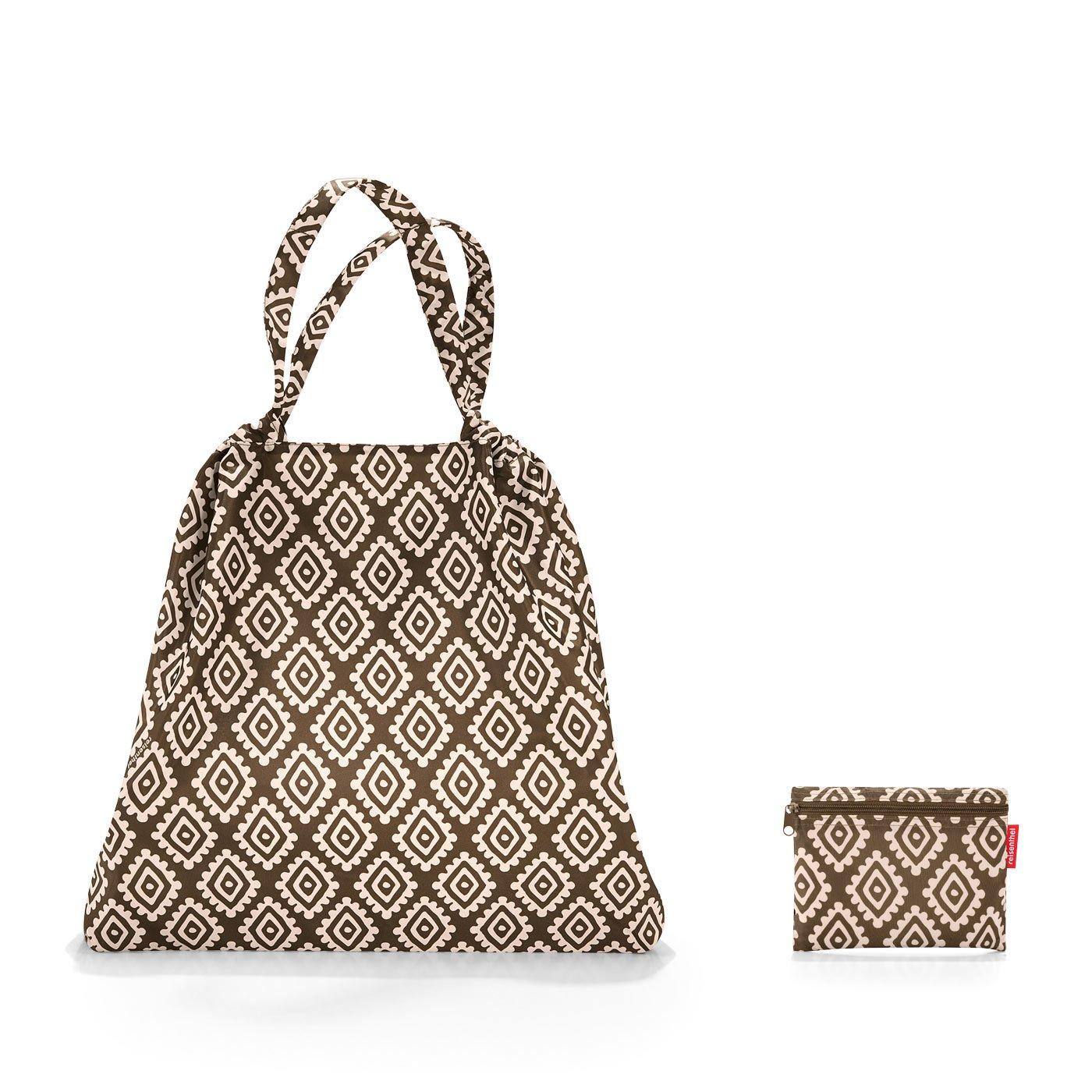 64 cm Diamonds Mocha 25 liters Marron Reisenthel Mini Maxi loftbag Sac de Plage