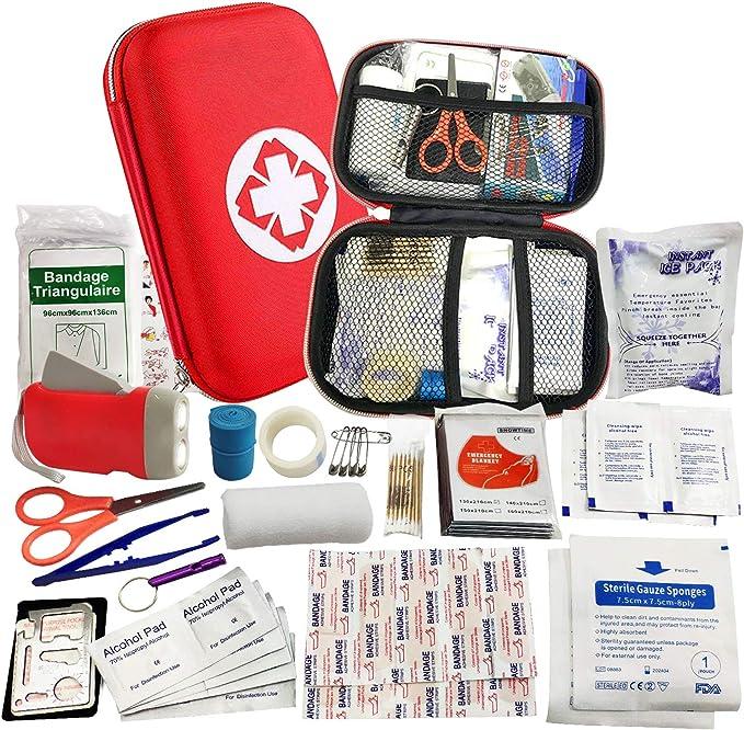la voiture le bureau la caravane les voyages le travail Value Aid Kit de premiers secours compatible HSE pour la maison