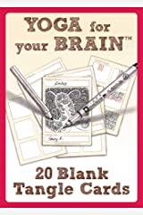 Yoga for Your Brain 20 Blank Tangle Cards Cards