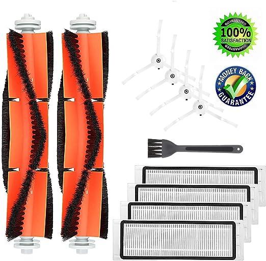 Isincer Accesorios de Repuesto XIAOMI MI Robot Aspiradora, Robot Roborock S50 S51 Piezas de Repuesto Cepillo y filtros para aspiradora: Amazon.es: Hogar