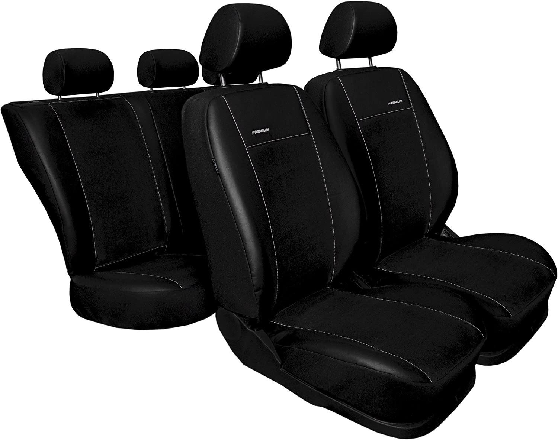 Sitzbezüge Sitzbezug Schonbezüge für Peugeot 306 Rot Sportline Komplettset
