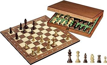 Philos 2503 - Juego de ajedrez con Tablero y Figuras en Caja ...