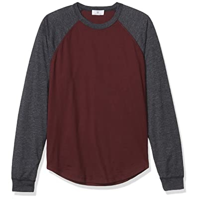 AG Adriano Goldschmied Men's Liam Raglan Crew: Clothing