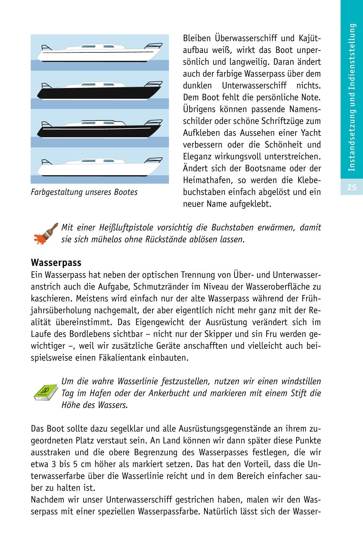 Sachbücher Bootspflege selbst gemacht Yacht-Bücherei Band 128 Segelpflege Boote Schiff Buch