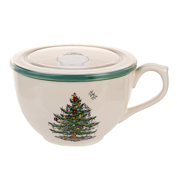 amazoncom spode christmas tree 12piece dinnerware set service for 4 plates