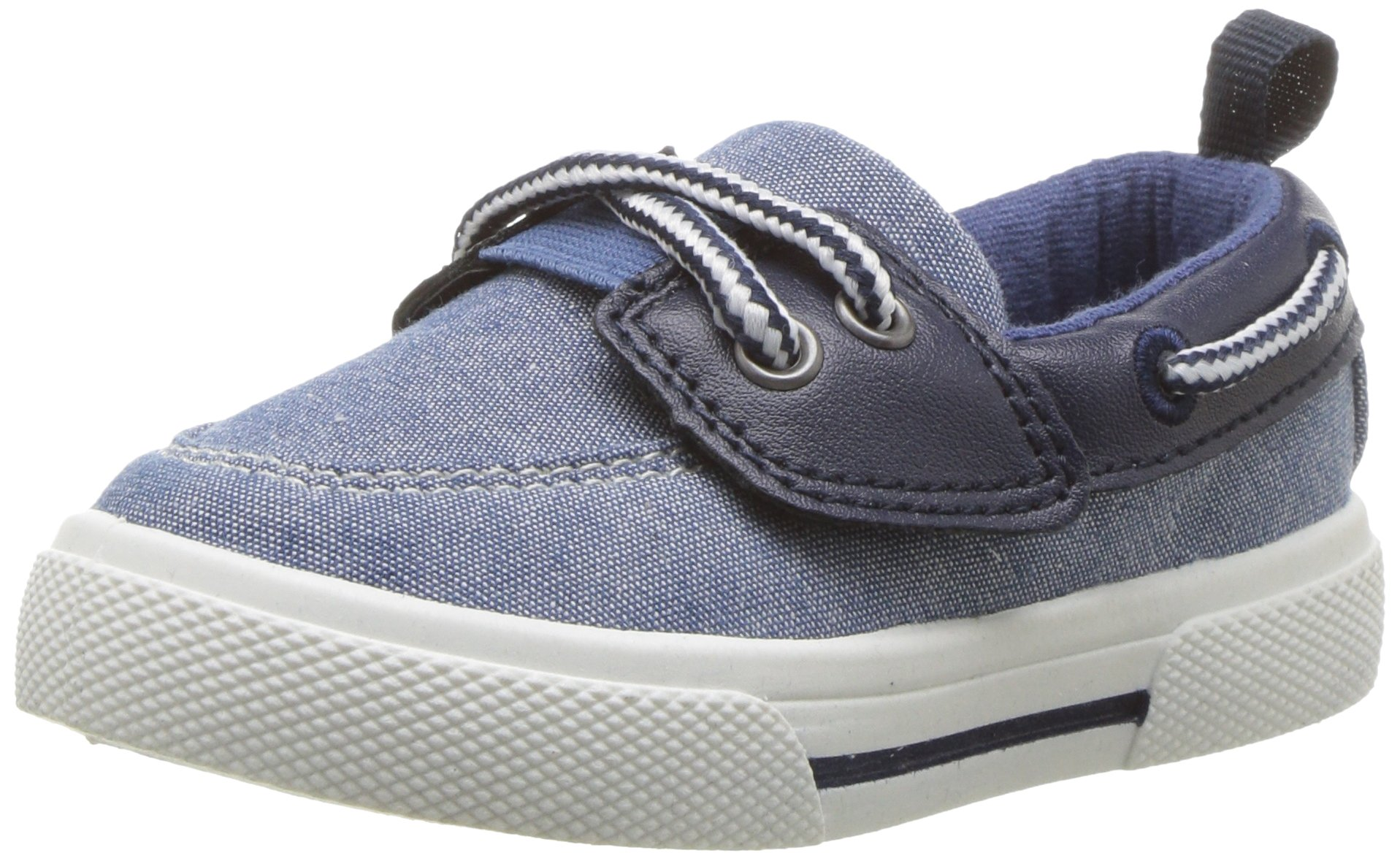 Carter's Boys' Cosmo Casual Slip-on Sneaker, Navy, 8 M US Toddler
