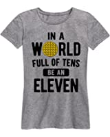 Air Waves In A World Of Tens Eleven - Ladies Short Sleeve Classic Fit Tee